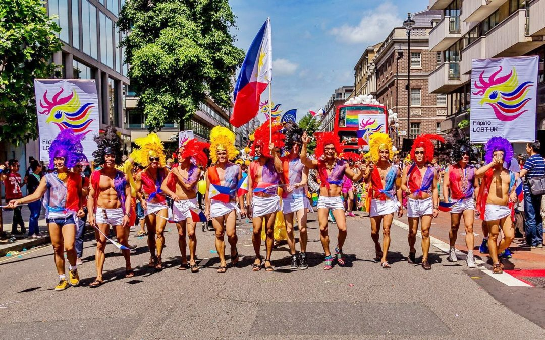 Filipino LGBT UK at London Pride 2013