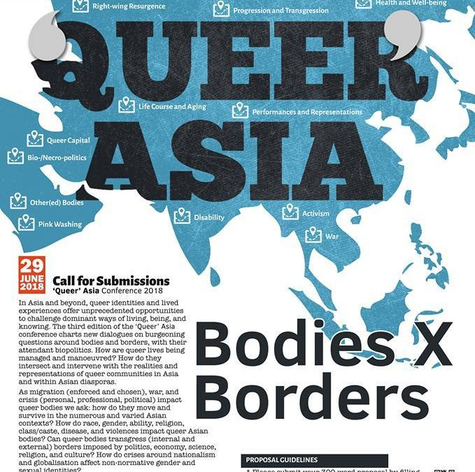 Queer Asia Conference 2018: Bodies X Borders