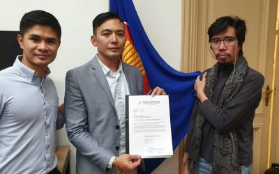 Filipino LGBT Europe formally registered dissent at Philippine Embassy The Hague