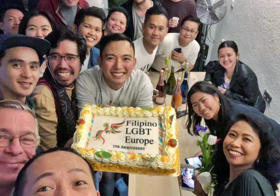 Filipino LGBT Europe celebrates its 1st year Anniversary