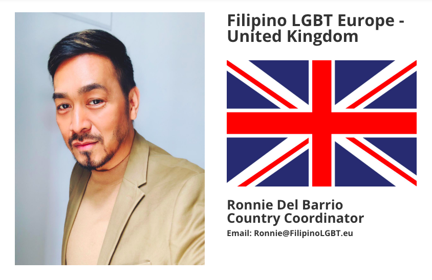Ronnie Del Barrio New Country Coordinator for United Kingdom