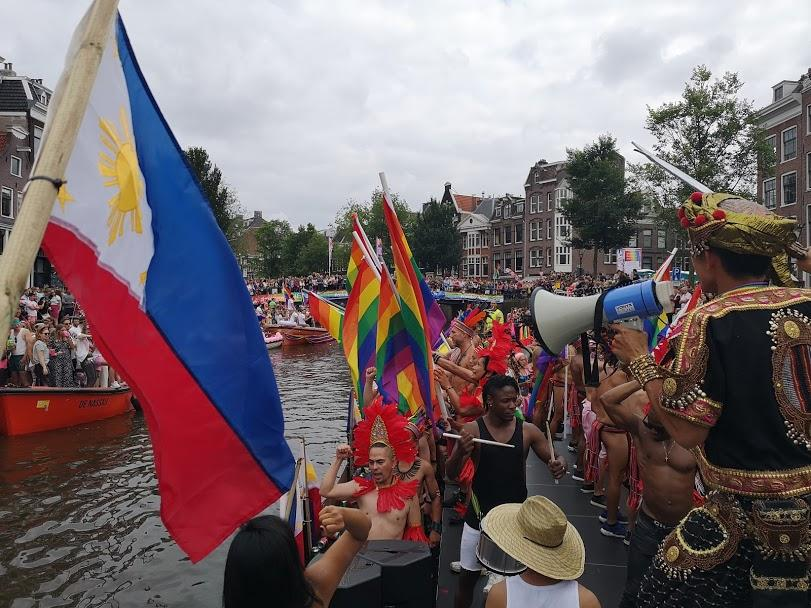 GMA NEWS: Filipino LGBT group makes waves at Amsterdam Canal Pride