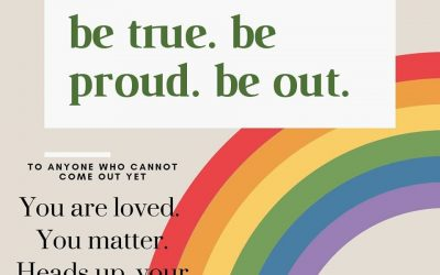 Be True. Be Proud. Be out