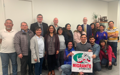 Migrante Utrecht held Migrants Talk