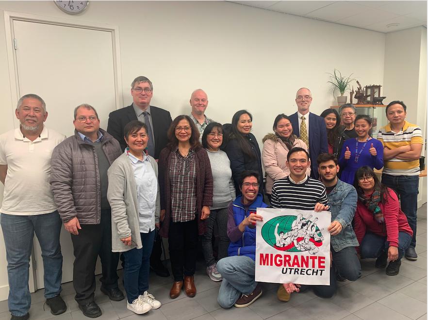 Migrante Utrecht held Migrants Talk