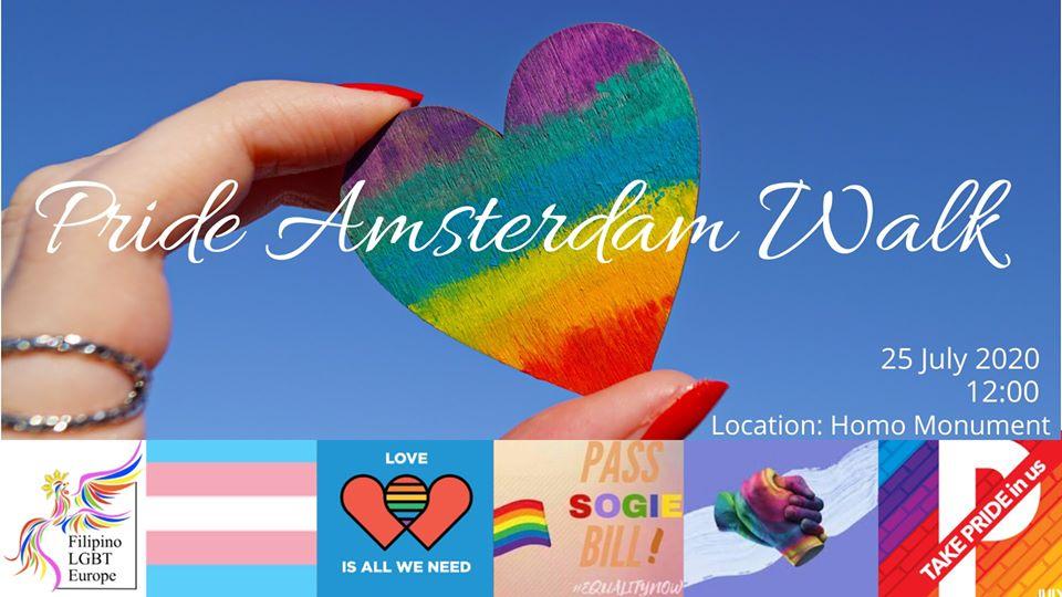 Filipino LGBTs joins Amsterdam Pride Walk 2020