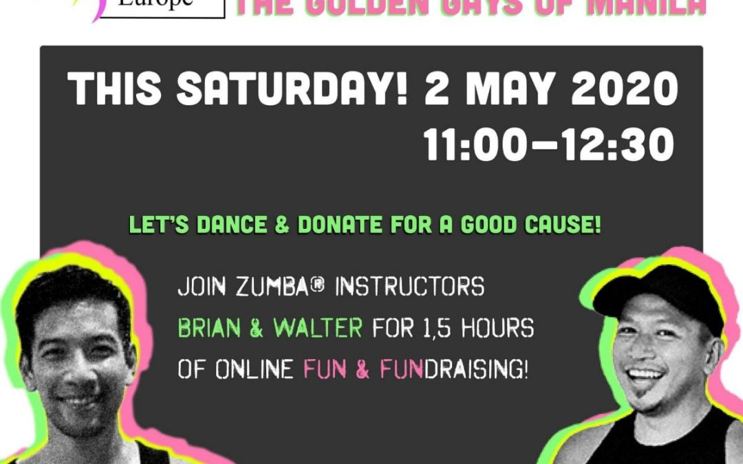 Zumba Fundraising on Saturday, 2nd May for Golden Gays Manila