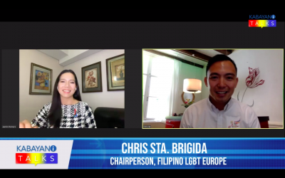 Kabayani Talks features Filipino LGBT Europe Bayanihan work during Covid-19