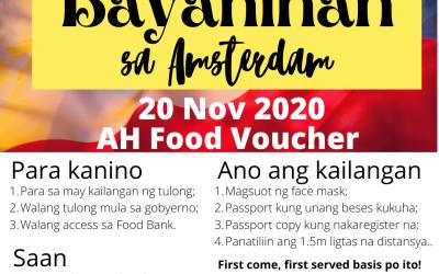 20 Nov 2020 Ayuda sa Amsterdam