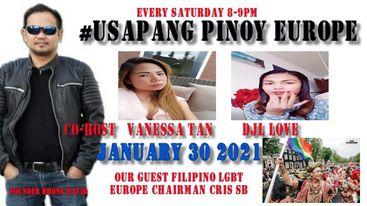 Usapang Pinoy Europe features Ayuda sa Amsterdam
