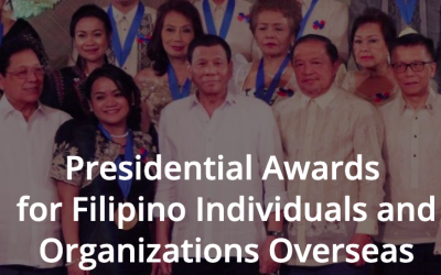 Presidential Awards for Filipino Individuals and Organizations Overseas featured Ayuda sa Amsterdam