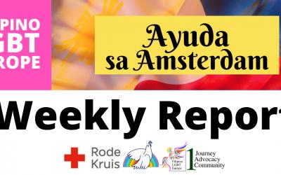 Report: 29 Jan 2021 Ayuda sa Amsterdam