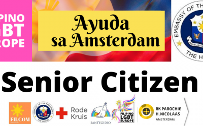 Ayuda sa Amsterdam para sa Filipino Senior Citizen