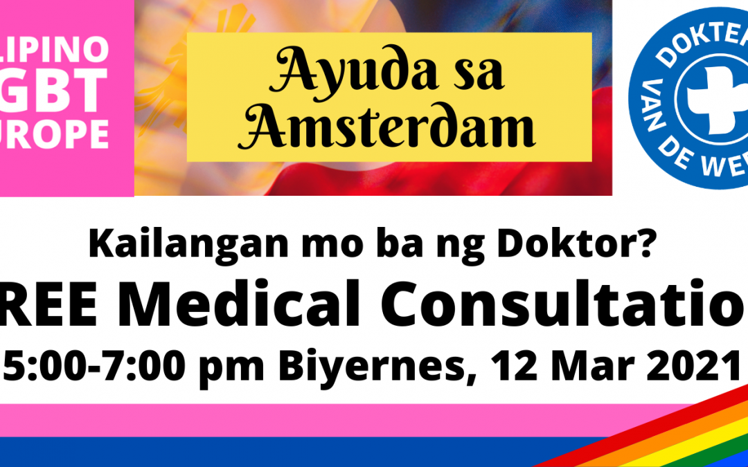 Free Medical Consultation in Amsterdam (12Mar)