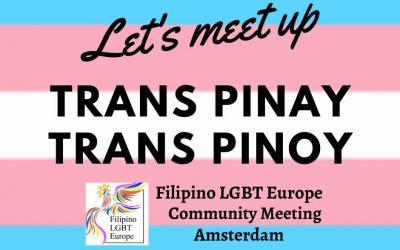 Trans Pinoy/Pinay Meet up