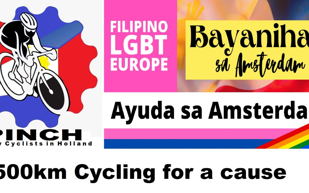 Pinoy Cyclist in Holland will ride 500km cycling for a cause