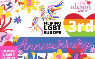 Filipino LGBT Europe celebrates 3rd Anniversary