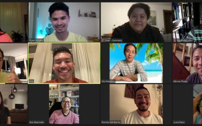 Filipino LGBT Europe Representatives meet to talk about Philippine May 2022 Election