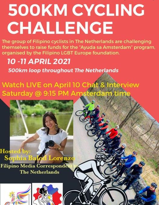500KM Cycling Fundraising Challenge