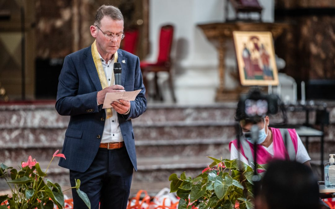 Colm Dekker's message to Filipino Community during Philippine Independence Day celebration in Amsterdam