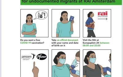 Covid-19 Vaccine for Undocumented Migrants in Amsterdam
