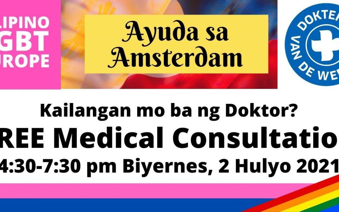 Kailangan mo ba ng Doktor o Tulong sa Pagkain?