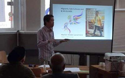 Filipino LGBT Europe joins Aidsfonds HIV naar 0 training session