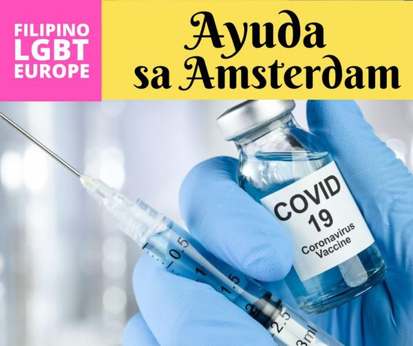 12-16 July 2021 Covid-19 Bakuna schedule in Amsterdam