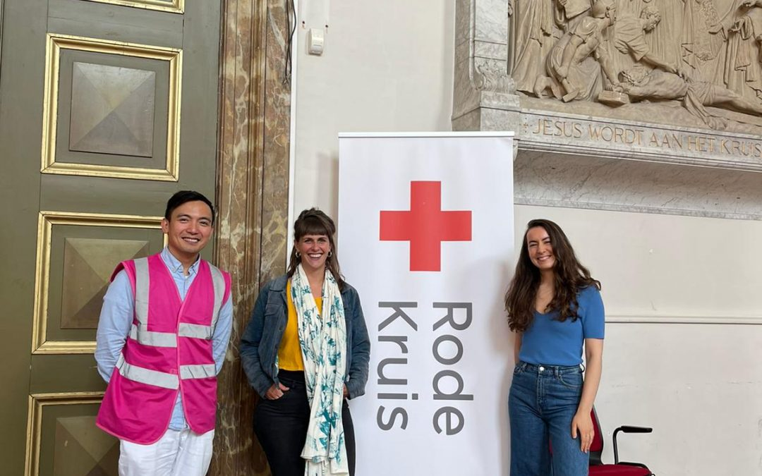 Red Cross' Digital Aid Team visits Ayuda sa Amsterdam