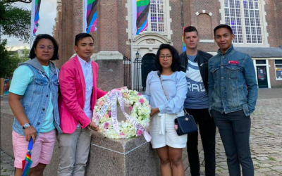 Filipino LGBT Europe paid respect and tribute to victims of HATE CRIMES