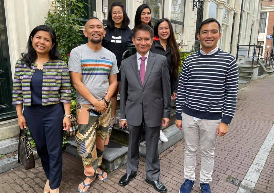 Philippine Amb. Malaya visits Bayota the Home of Filipino LGBTQI+ in Amsterdam